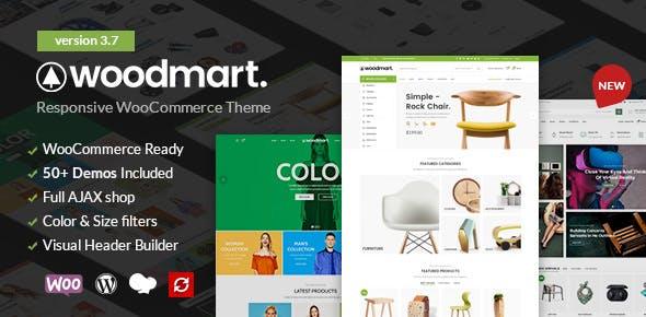 WoodMart v4 0 1 – Responsive WooCommerce Theme - Nulled